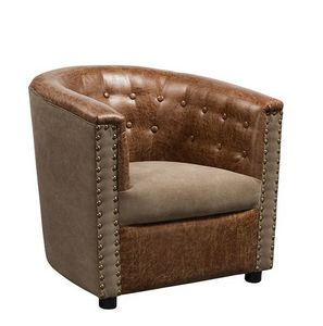 Mathi Design - fauteuil club boston - Fauteuil
