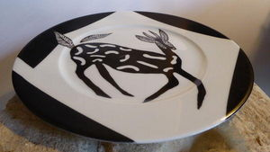 Tywacs Cr�ations -  - Assiette Plate