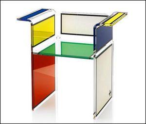 Mathi Design - fauteuil beau-haus jc de castelbajac acrila - Fauteuil