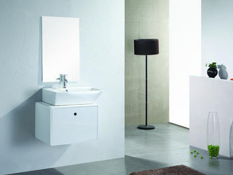 UsiRama.com - meuble salle de bain ballerine ( rangement 620mm ) - Meuble De Salle De Bains