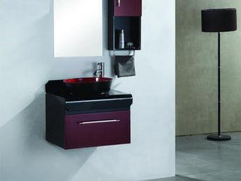UsiRama.com - meuble salle de bain pas cher avoir du bol 60cm - Meuble De Salle De Bains