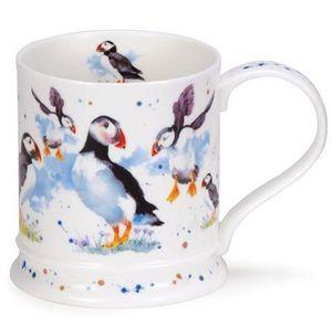 Dunoon - puffins - Mug