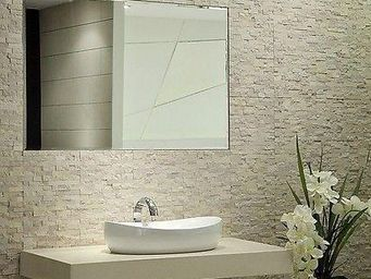 UsiRama.com - meuble salle de bain 110cm vasque céramique - Meuble Vasque