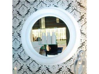 TossB - grand miroir rond lumineux gio specchio - Miroir Lumineux