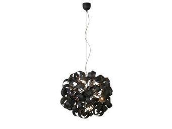 LUCIDE - suspension atoma d90 en aluminium noir - Suspension