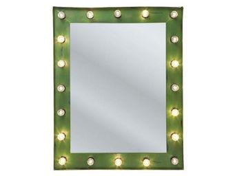 Kare Design - miroir éclairant show mirror 102 x 80 cm - Miroir Lumineux