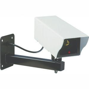CFP SECURITE - vidéosurveillance - caméra factice en métal cs11d- - Camera De Surveillance