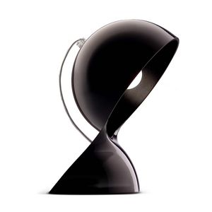 ARTEMIDE - dalu - lampe à poser noir h26cm | lampe à poser ar - Lampe À Poser