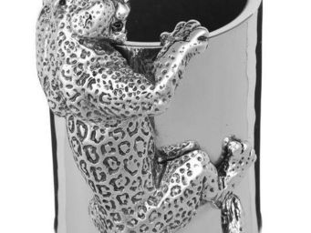 Benneton - l�opard - Pot � Crayons