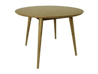 MyCreationDesign - lack frene - Table De Repas Ronde