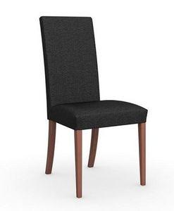 Calligaris - chaise italienne latina de calligaris noyer assi - Chaise