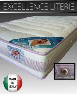 WHITE LABEL - matelas 160 * 190 cm excellence literie épaisseur  - Matelas En Mousse