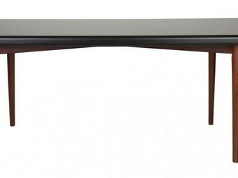 WHITE LABEL - table repas juju 180 x 90 cm de dutchbone noyer - Table Bureau
