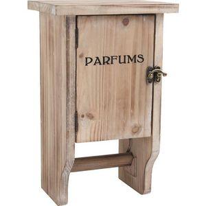Aubry-Gaspard - dérouleur papier toilette avec petite armoire - Distributeur Papier Toilette
