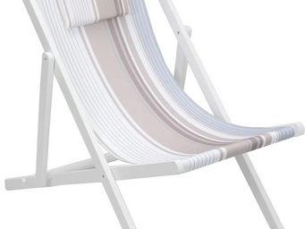 Amadeus - chilienne en bois blanc rivage - Transat