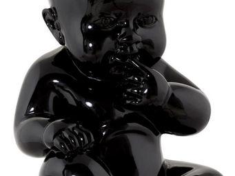 KOKOON DESIGN - statue design bébé sweety noir - Statuette