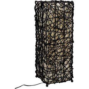 Aubry-Gaspard - lampe en rotin - Lampe À Poser