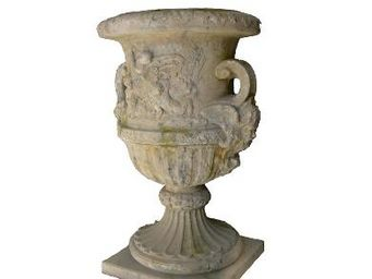 vase m dicis vase medicis terre cuite poterie goicoechea. Black Bedroom Furniture Sets. Home Design Ideas