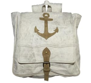 SHOW-ROOM - backpack, anchor beige - Sac � Dos
