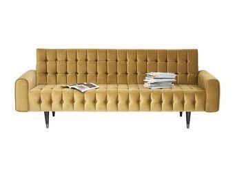 Kare Design - canapé milchbar miel 3 places - Canapé 3 Places