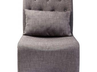 Kare Design - chaise cantilever divo marron - Chaise