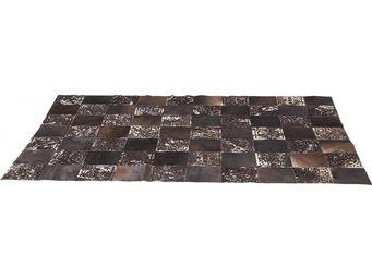 Kare Design - tapis en cuir square ornament 170x240cm - Tapis Contemporain