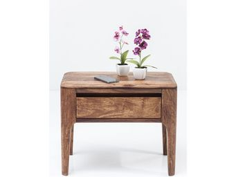 Kare Design - chevet brooklyn nature 30x50 cm - Table De Chevet