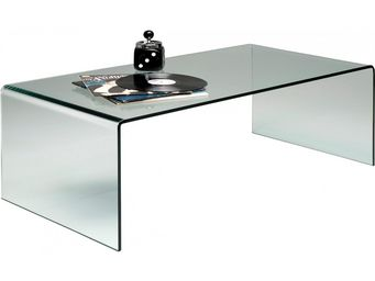 Kare Design - table basse clear club basic 120x60 - Table Basse Forme Originale
