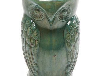 Kare Design - tabouret owl vintage turquoise - Tabouret