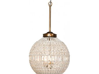 Kare Design - lustre art deco 50 crystal kare design - Suspension