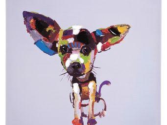 Kare Design - tableau chihuahua 50x50 - Tableau Décoratif