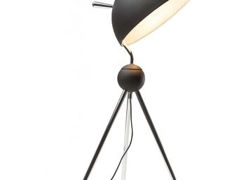 Kare Design - lampe de table tripot half bowl - Lampe À Poser