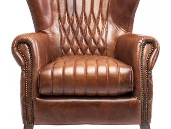 Kare Design - fauteuil vintage country side - Fauteuil
