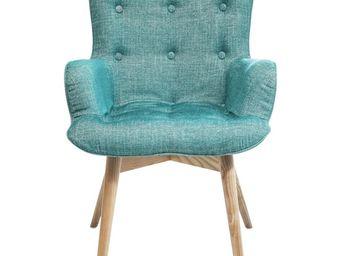 Kare Design - fauteuil retro angels wings rhythm vert eco - Fauteuil