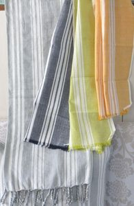 ITI  - Indian Textile Innovation - stripes - Jeté De Lit