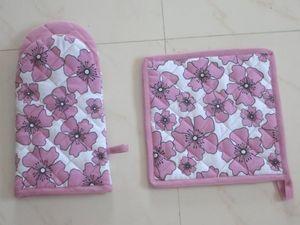 ITI  - Indian Textile Innovation - flowers - Gant De Four