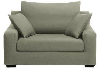 Home Spirit - fauteuil lit convertible manhattan tissu tweed kak - Fauteuil Lit