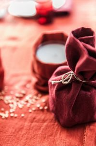 Couleur Chanvre -  - Bougie De Noël