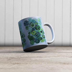 la Magie dans l'Image - mug jardin vert - Mug