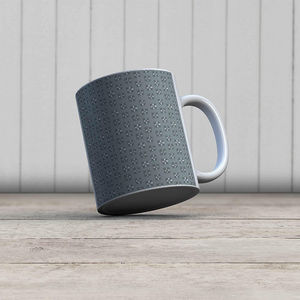 la Magie dans l'Image - mug lotus vert-de-gris foncé - Mug
