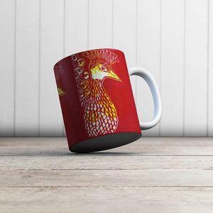la Magie dans l'Image - mug paon paon - Mug