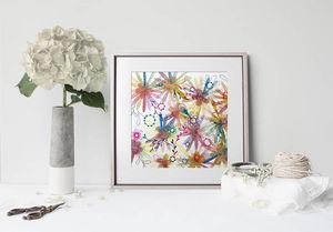 la Magie dans l'Image - print art effusion - Estampe