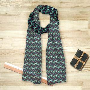la Magie dans l'Image - foulard abstrait fifties celadon - Foulard Carré