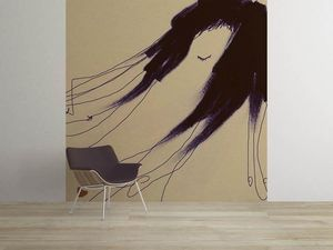la Magie dans l'Image - grande fresque murale de loin pillow - Papier Peint Panoramique