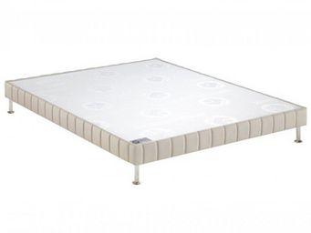 Bultex - bultex sommier tapissier confort ferme pierre 90 - Sommier Fixe À Ressorts