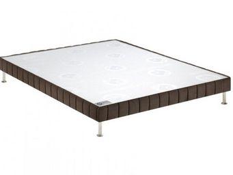 Bultex - bultex sommier tapissier confort ferme vison 160* - Sommier Fixe À Ressorts