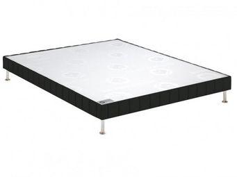 Bultex - bultex sommier double tapissier confort ferme end - Sommier Fixe À Ressorts