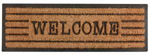 Esschert Design - tapis en fibres de coco inscription welcome - Paillasson