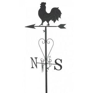 CHEMIN DE CAMPAGNE - girouette pic de jardin fer métal 162 cm - Girouette