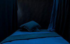 Couleur Chanvre - bleu de nîmes - Housse De Couette